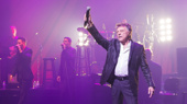 Welcome back to Broadway, Frankie Valli! Hear his famous falsetto through October 29 at the Lunt-Fontanne Theatre!