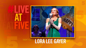 Broadway.com #LiveatFive with Lora Lee Gayer of Holiday Inn
