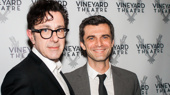 This Day Forward scribe Nicky Silver and star Michael Crane celebrate their off-Broadway opening.(Photo: Kevin Winebold)
