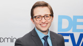 Will Roland beams on opening night of his Broadway debut in Dear Evan Hansen.