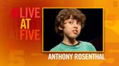 Broadway.com #LiveatFive with Anthony Rosenthal of Falsettos
