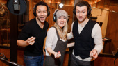 The Cast of Holiday Inn Records Their Cast Album