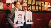 The Front Page's John Goodman & John Slattery Get the Sardi's Treatment