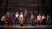 The cast of Come From Away.