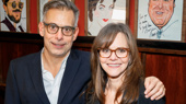 This power pair! The Glass Menagerie's Joe Mantello and Sally Field take a photo.