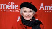 Tony winner Ellen Burstyn attends the Broadway opening of Amélie.