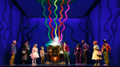 John Rubinstein, Ben Crawford, Emma Pfaeffle, Jake Ryan Flynn, Christian Borle, Trista Dollison, Alan H. Green, Jackie Hoffman & Michael Wartella in Broadway's Roald Dahl's Charlie and the Chocolate Factory