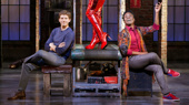 Billy Porter & Stark Sands Sashay Back into Kinky Boots on Broadway
