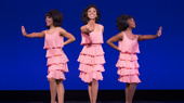 Gabriella Whiting (Florence Ballard), Allison Semmes (Diana Ross) & Tavia Riveé (Mary Wilson) in Motown The Musical