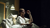 Andrew Garfield stars as Prior in the National Theatre's production of Tony Kushner's Angels in America.(Photo: Helen Maybanks)