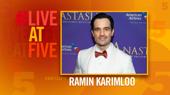 Broadway.com #LiveatFive with Ramin Karimloo of Anastasia