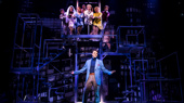The cast of Prince of Broadway