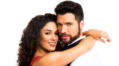Christie Prades as Gloria Estefan & Mauricio Martinez as Emilio Estefan, On Your Feet! © Matthew Murphy
