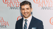 """Prince of Broadway's dancing dynamo Tony Yazbeck suits up. He performed """"We'll Take a Glass Together"""" from Grand Hotel at the event."""