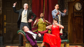 The cast of The Play That Goes Wrong.