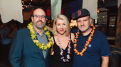 Escape to Margaritaville's director Christopher Ashley, choreographer Kelly Devine and scribe Mike O'Malley get together.