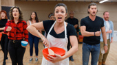 Desi Oakley and the national tour cast of Waitress serve up a performance.