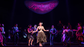 Nancy Ticotin as Gloria Fajardo and  the company of the national tour of On Your Feet.