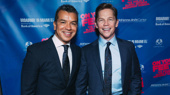 On Your Feet! choreographer Sergio Trujillo and his partner Jack Noseworthy step out.