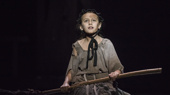 Zoe Glick as Little Cosette in Les Miserables