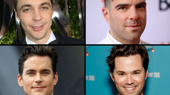 Jim Parsons, Zachary Quinto, Matt Bomer and Andrew Rannells