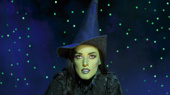 Mary Kate Morrissey as Elphaba in the national tour of Wicked