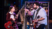 Theodora Silverman & Rob Colletti in the School of Rock tour