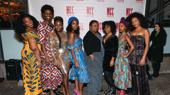 School Girls; Or, The African Mean Girls Play's Abena Mensah-Bonsu, Nike Kadri, Zainab Jah, MaameYaa Boafo, Myra Lucretia Taylor, Paige Gilbert, Mirirai Sithol and Nabiyah Be