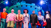 The Broadway company of SpongeBob SquarePants takes a bow on opening night!
