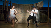 Kim Exum & Conner Peirson in The Book of Mormon