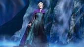 Caissie Levy as Elsa in Frozen.