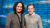 Exclusive! Bryan Cranston & Constantine Maroulis Visit Come From Away