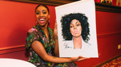 Bless! Saint Joan Tony Nominee Condola Rashad Receives Her Sardi's Portrait