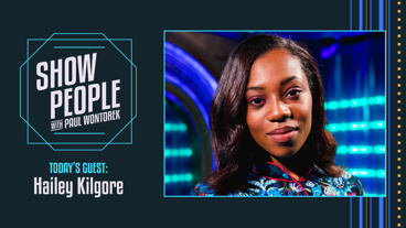 Show People with Paul Wontorek: Hailey Kilgore of Once On This Island