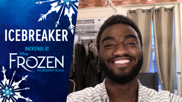 Backstage at Frozen with Jelani Alladin, Episode 8: Kristoff Out!