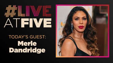 Broadway.com #LiveatFive with Merle Dandridge of Once On This Island