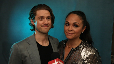<i>The Broadway.com Show</i>: Aaron Tveit and Karen Olivo on Bringing <i>Moulin Rouge!</i> to the Stage