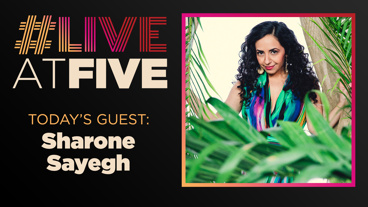 Broadway.com #LiveatFive with Sharone Sayegh of The Band's Visit