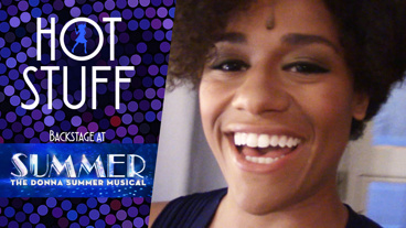 Backstage at <I>Summer</I> with Ariana DeBose, Episode 6: Singing in the Park