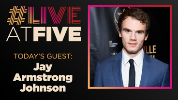 Broadway.com #LiveatFive with Jay Armstrong Johnson of The Phantom of the Opera