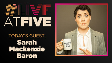 Broadway.com #LiveatFive with Sarah Mackenzie Baron of <i>The Office! A Musical Parody</i>