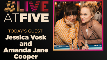 Broadway.com #LiveatFive with Jessica Vosk and Amanda Jane Cooper of Wicked