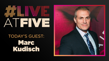 Broadway.com #LiveatFive with Marc Kudisch of <i>Girl From the North Country</i>