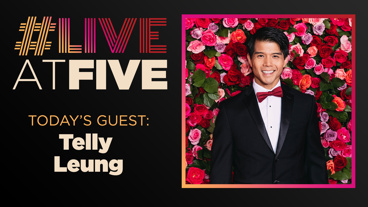 Broadway.com #LiveatFive with Telly Leung of Aladdin