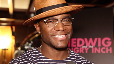 Video! Taye Diggs on His Glittery Broadway Comeback, Lipstick Shopping & Being the First 'Chocolate' Hedwig