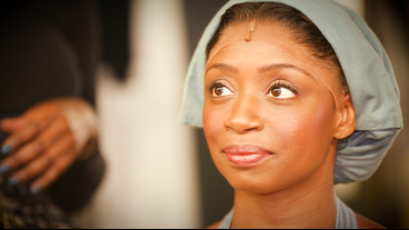 'It's a Lot!' Montego Glover Gets Ready Backstage for the Crawling, Dying, Weeping of Les Miserables Heroine Fantine