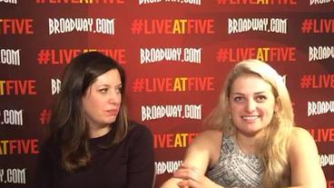 Broadway.com #LiveatFive with Spring Awakening's Ali Stroker