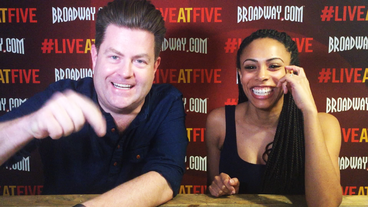 Broadway.com #LiveatFive with <I>Invisible Thread</I> Star Nicolette Robinson