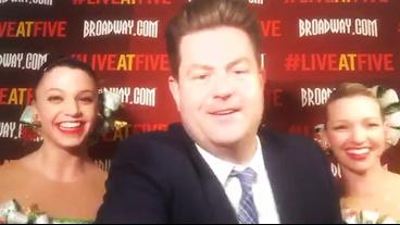 Broadway.com #LiveatFive with the Rockettes!