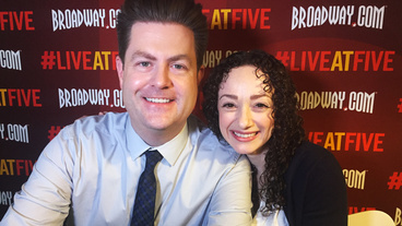 Broadway.com #LiveatFive with Megan McGinnis of <I>Daddy Long Legs</I>